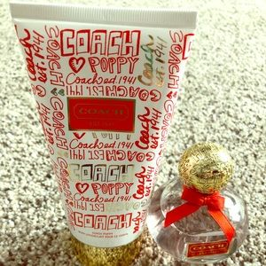 ✨Coach Poppy Set, Lotion and Fragrance✨